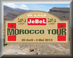 JeBel Morocco Tour 2013